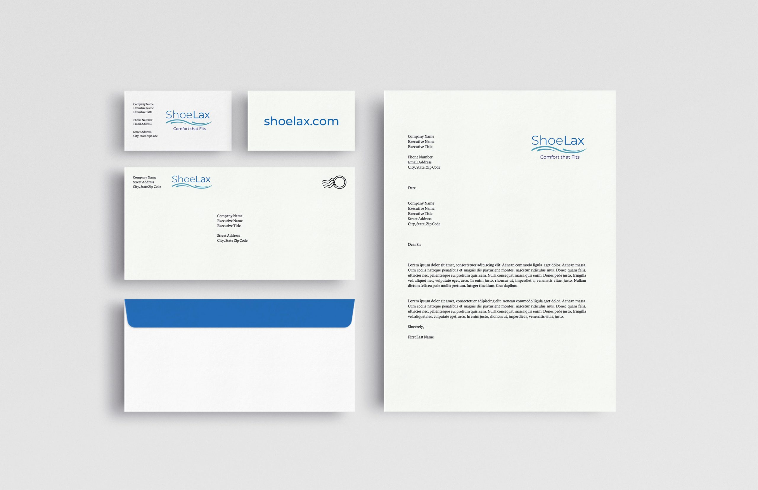 mailing and business card